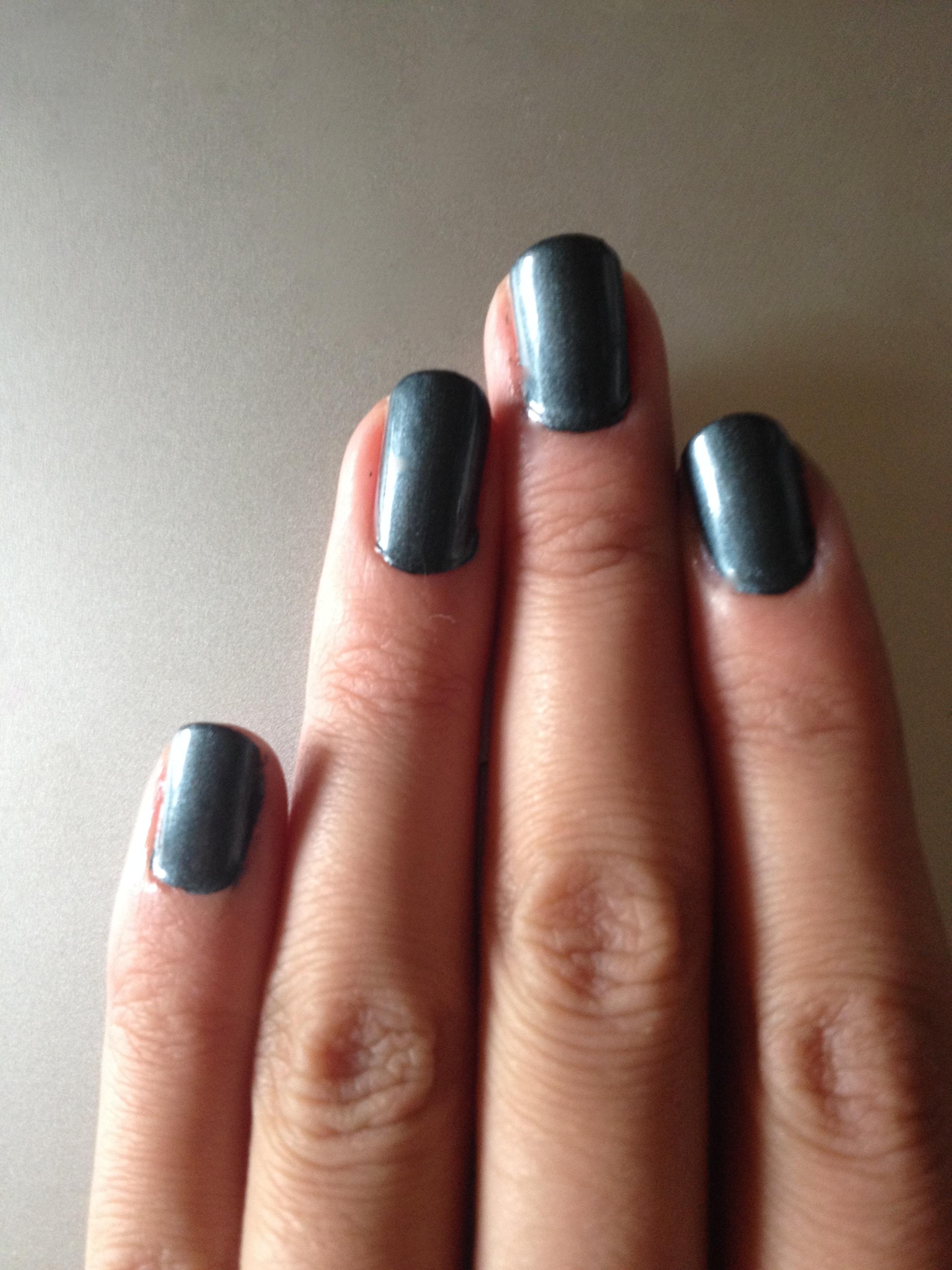 Fifty shades of grey… nail polish – makeupandmyself