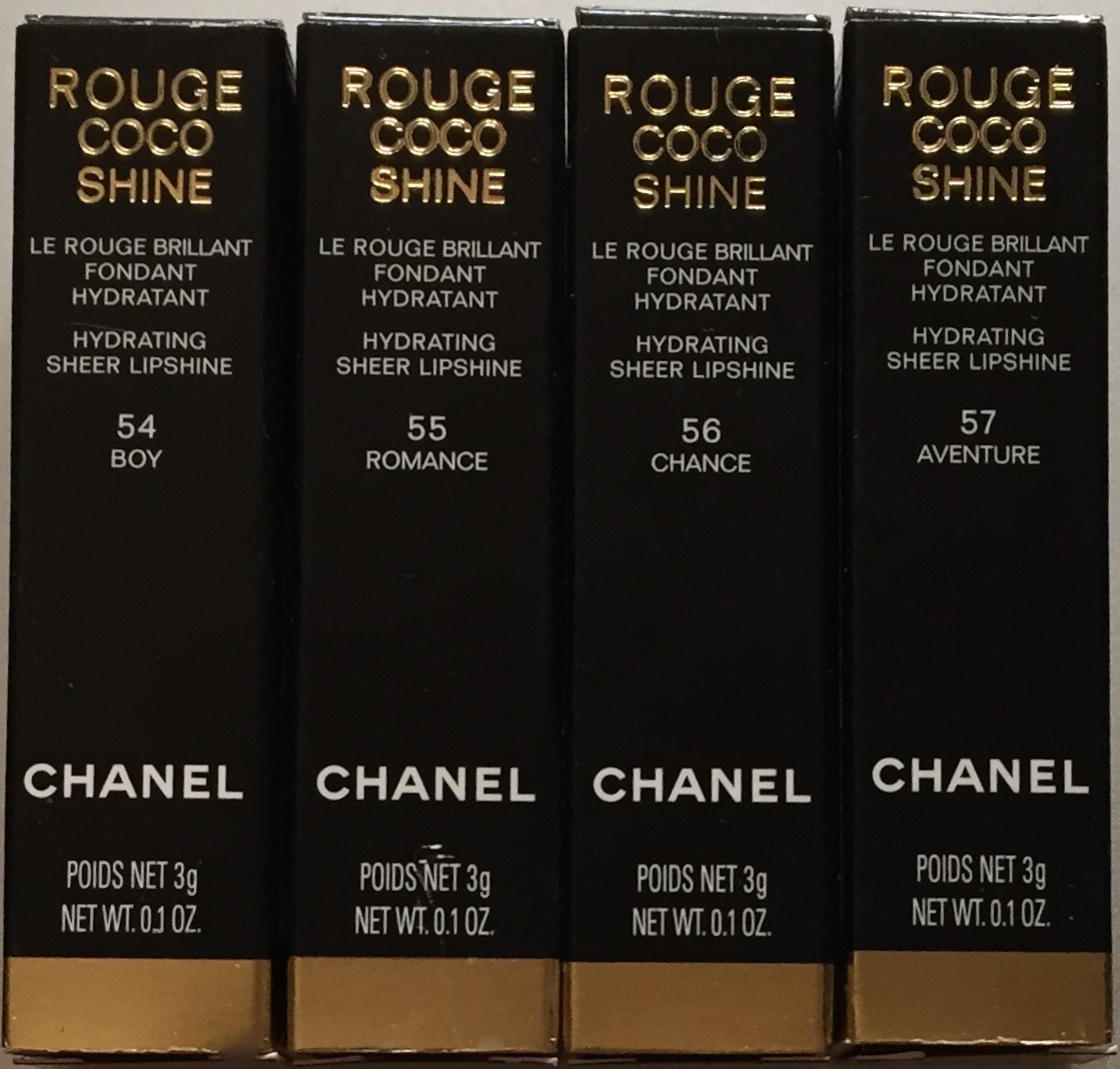 Chanel Rouge Coco Shine All Shades Swatched Makeupandmyself