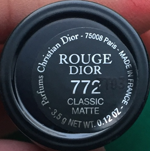 Diorouge Precious Rocks Collection Couture Rouge Dior swatched